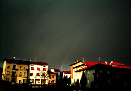 Arcobaleno in Brianza