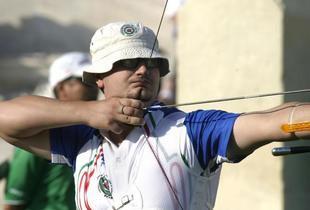 Marco Galiazzo. Foto Omega-Colombo via Gazzetta.it