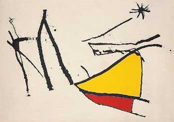 Joan Miró - Cantico del Sole, 1975