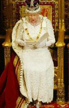 La regina d'Inghilterra