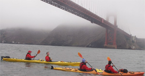 Kayak a San Francisco