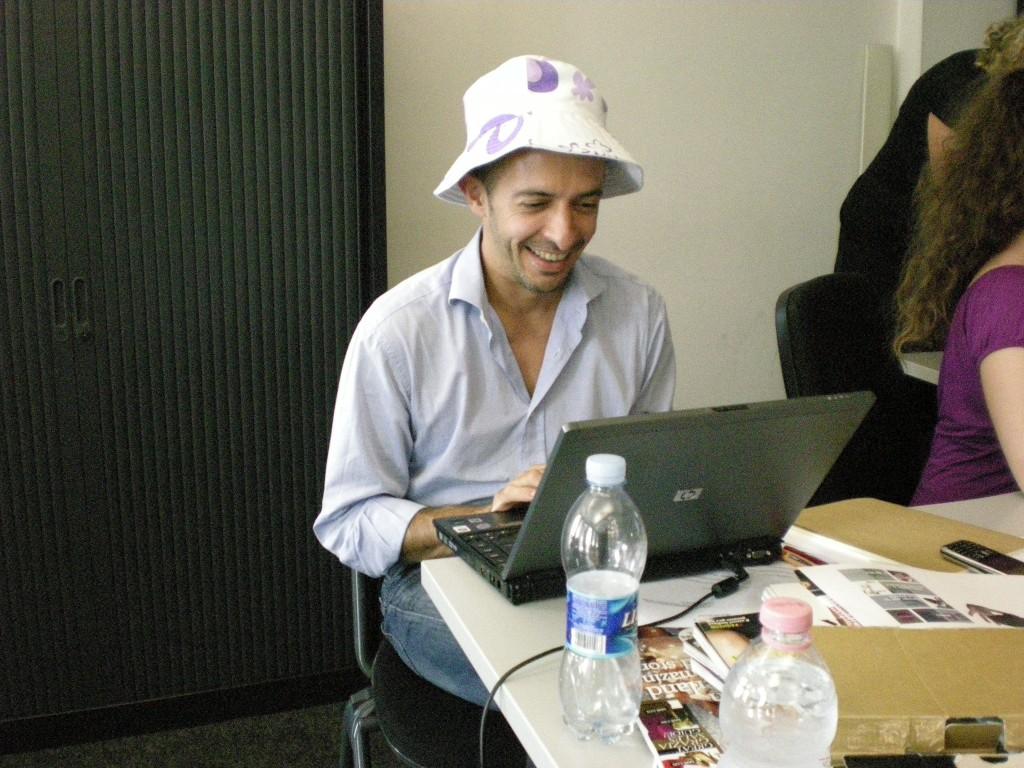 Blogger in sciopero (foto di C.)