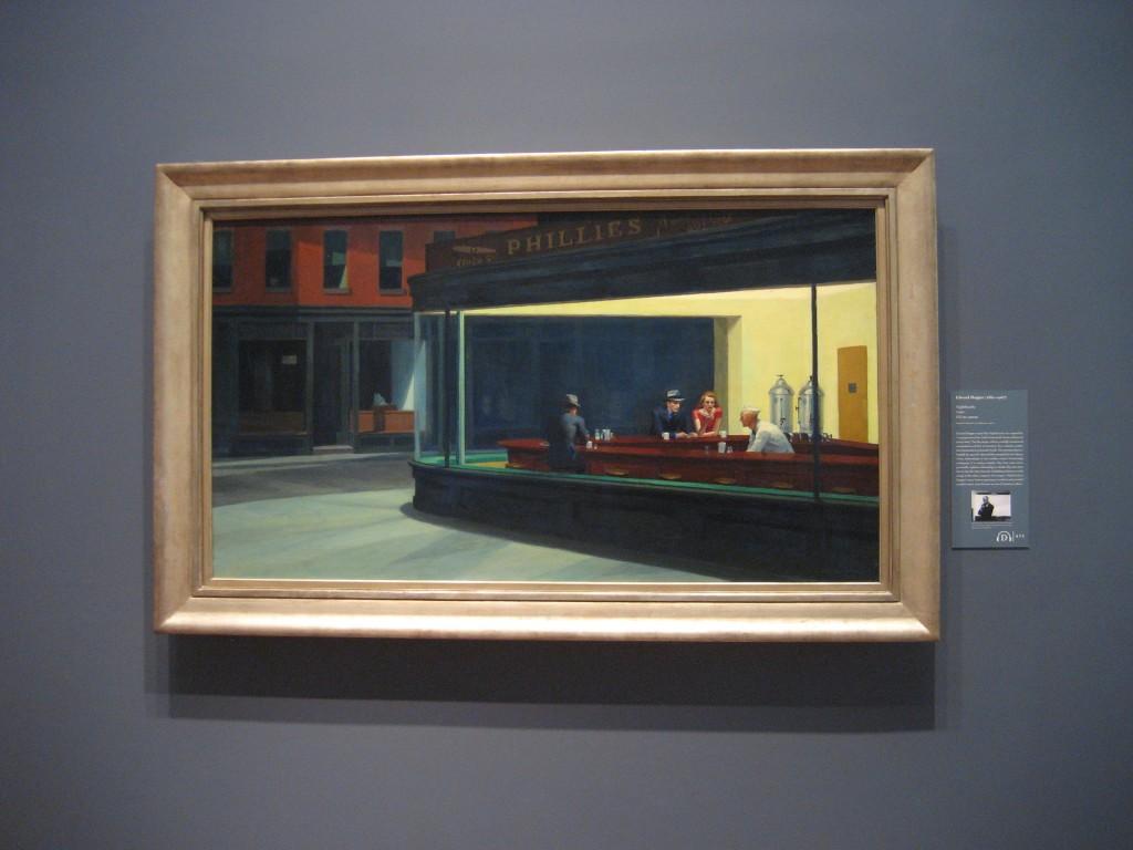 Nighthawks di Edward Hopper